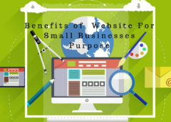 Benefits of  Website For Small Businesses Purpose