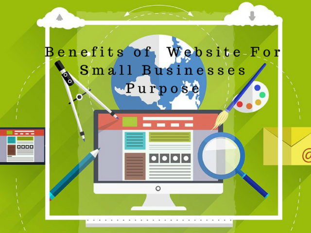 benefits of website for small businesses