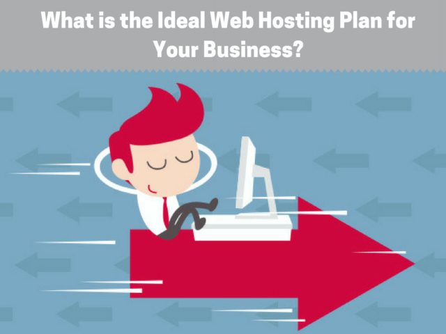 ideal web hosting plan for business