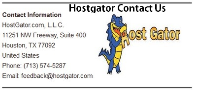 HostGator Contact Us