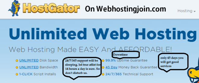 Hostgator Web hosting Services