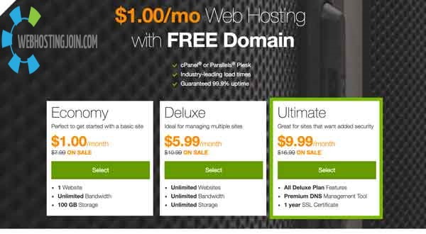 One Dollar Web Hosting