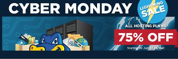 Hostgator Cyber Monday Discount