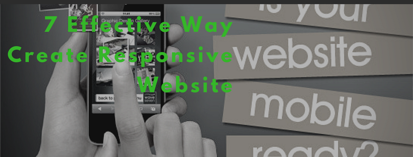Responsive website with effective techniques