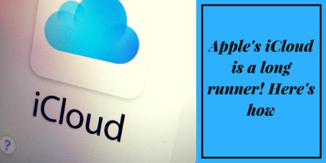 apple's iCloud runner