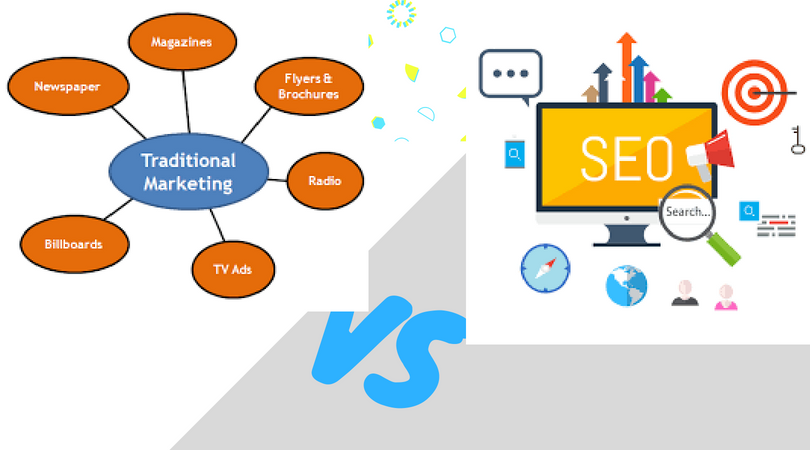 SEO Marketing vs. Traditional Online Marketing