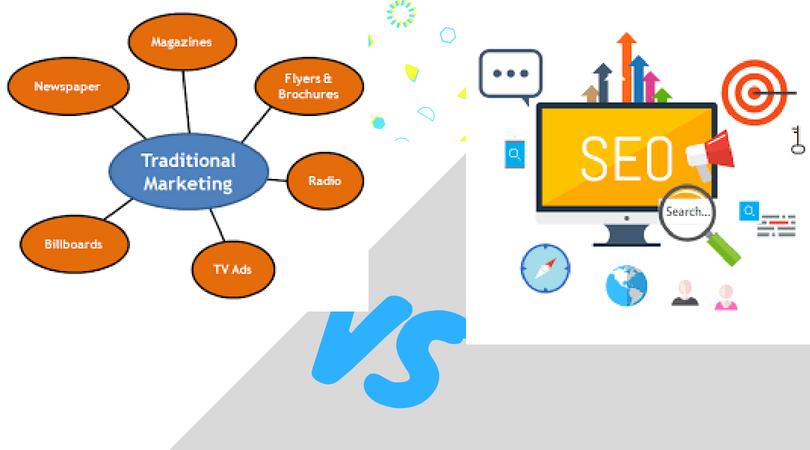 SEO Marketing vs. Traditional Online Marketing
