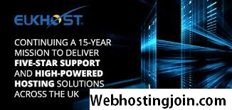 EukHost web hosting for UK with discount offers