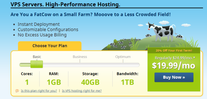 Fatcow VPS server hosting