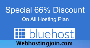 Upto 60% off bluehost hosting coupon