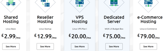 WebhostingUK Discounts Plans for Hosting