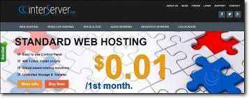 interserver 1 cent hosting