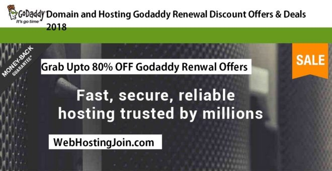 GoDaddy Renewal discount Offers