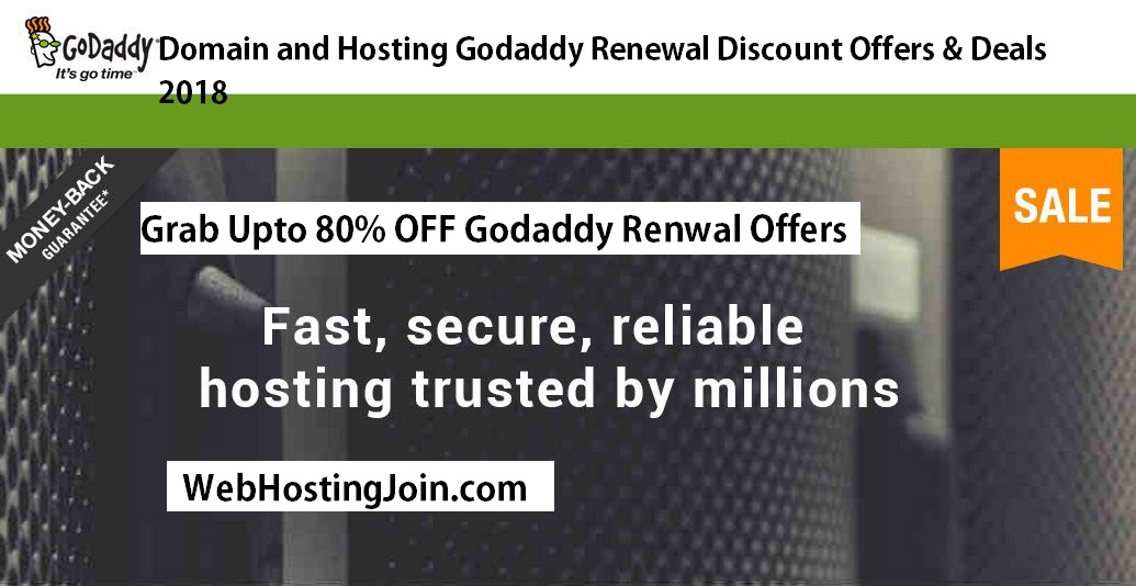 Godaddy Renewal Offers Discount Coupon Promo Codes October 2018