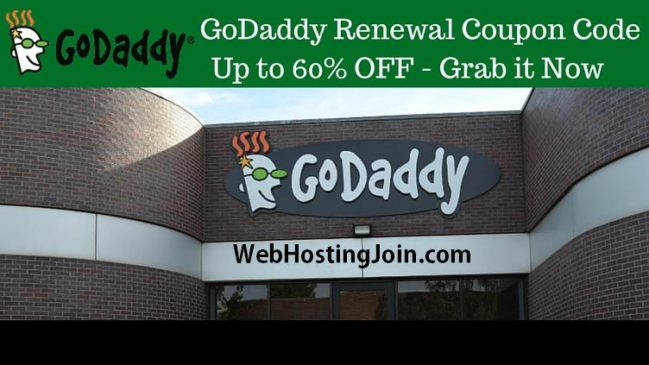 Godaddy Renewal Coupons