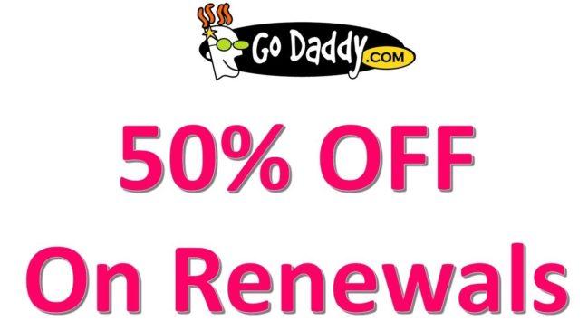 Godaddy Renewal Offers