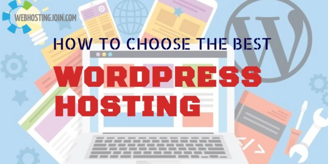 choose best WordPress hosting providers
