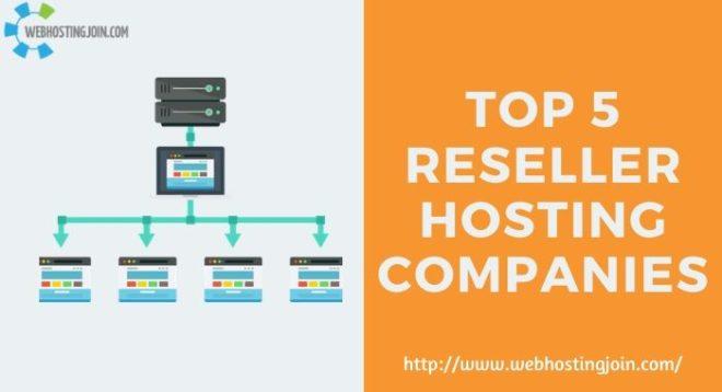 5 reseller hosting companies